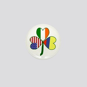 Shamrock of Colombia Mini Button