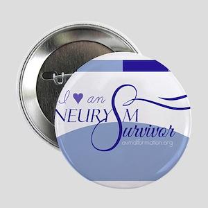 I <3 An Aneurysm Survivor (Blue) 2.25&quot; Button