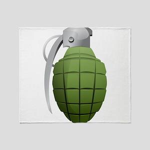 Grenade Throw Blanket