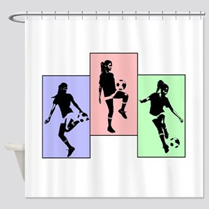 Express yourself multi Shower Curtain