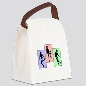 Express yourself multi Canvas Lunch Bag