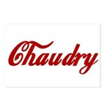 Chaudry name Postcards (Package of 8)