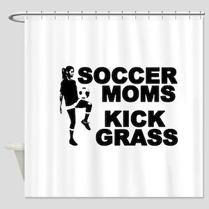 SOCCER MOMS Shower Curtain