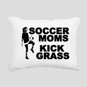 SOCCER MOMS Rectangular Canvas Pillow
