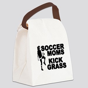 SOCCER MOMS Canvas Lunch Bag