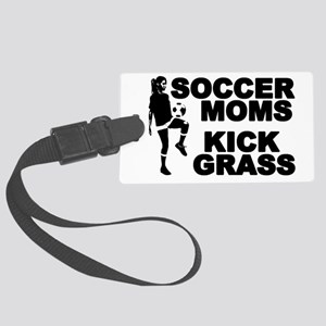 SOCCER MOMS Luggage Tag