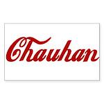 Chauhan name Sticker