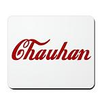 Chauhan name Mousepad