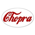 Chopra name Sticker