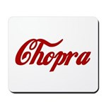 Chopra name Mousepad