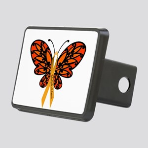 MS Awareness Butterfly Ribbon Hitch Cover