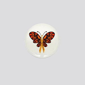 MS Awareness Butterfly Ribbon Mini Button