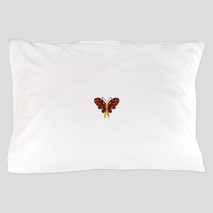 MS Awareness Butterfly Ribbon Pillow Case