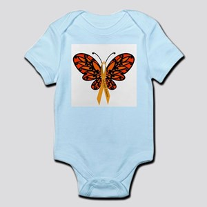 MS Awareness Butterfly Ribbon Body Suit