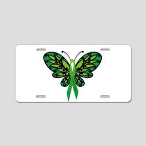 CP Awareness Ribbon Aluminum License Plate