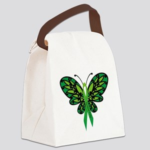 CP Awareness Ribbon Canvas Lunch Bag