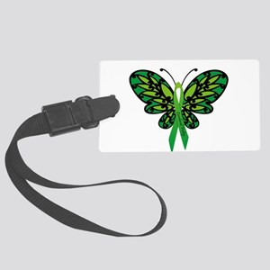 CP Awareness Ribbon Luggage Tag