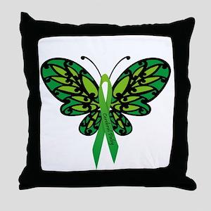 CP Awareness Ribbon Throw Pillow
