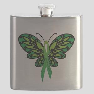 CP Awareness Ribbon Flask