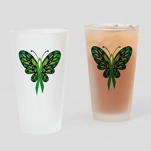 CP Awareness Ribbon Drinking Glass