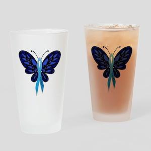 Diabetes Awareness Drinking Glass