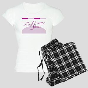 I <3 An Aneurysm Survivor (Purple) Pajamas