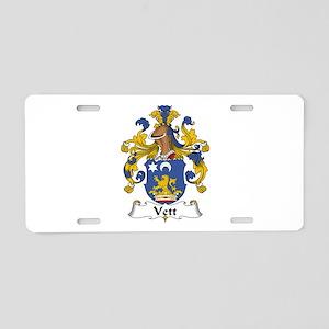 Vett Aluminum License Plate