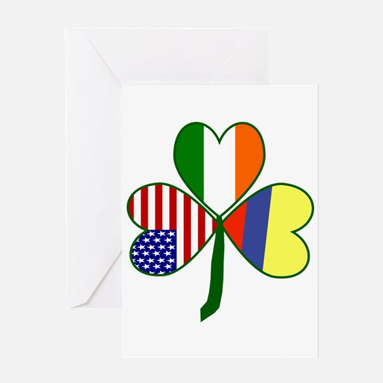 Shamrock of Colombia Greeting Card