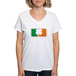 Irish Sports Logo Women's V-Neck T-Shirt