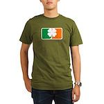 Irish Sports Logo Organic Men's T-Shirt (dark)