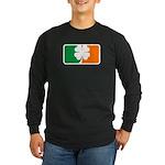 Irish Sports Logo Long Sleeve Dark T-Shirt