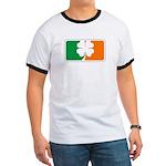 Irish Sports Logo Ringer T