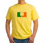 Irish Sports Logo Yellow T-Shirt