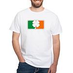 Irish Sports Logo White T-Shirt