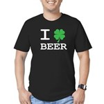 I Charm Beer Men's Fitted T-Shirt (dark)