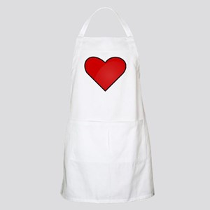 Red Heart Drawing Apron
