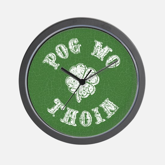 Pog Mo Thoin Wall Clock