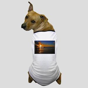 Kauai Sunset Dog T-Shirt