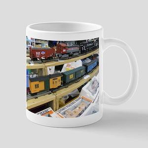 Adding Trains Mug