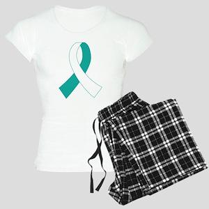 Cervical Cancer Ribbon Women's Light Pajamas