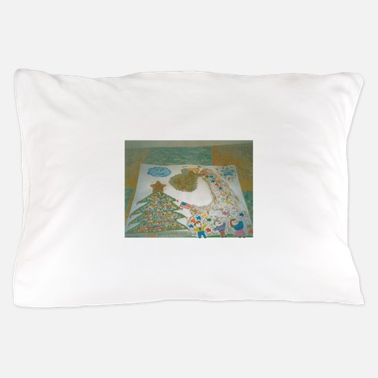 Christophers Angel Two. Pillow Case