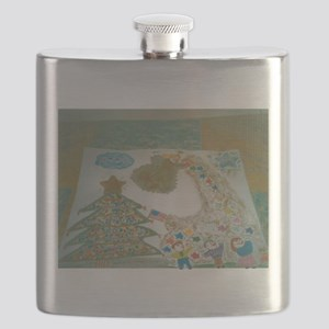 Christophers Angel Two. Flask