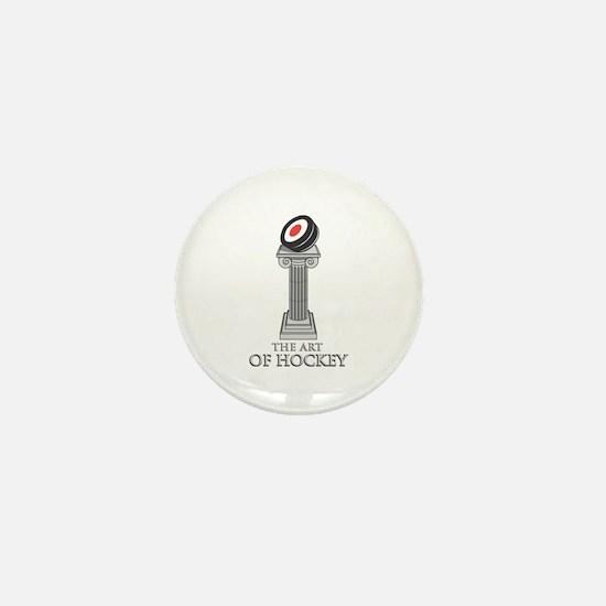 The Art of Hockey Mini Button