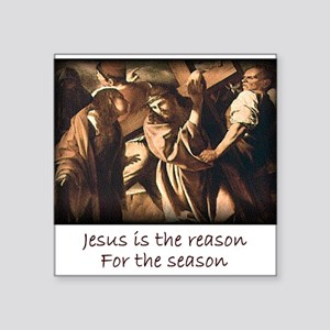 Easter Jesus is the reason for the season Square S