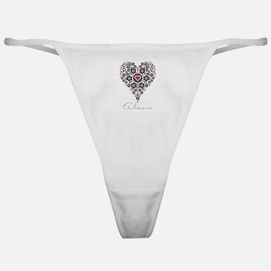 Love Alexis Classic Thong