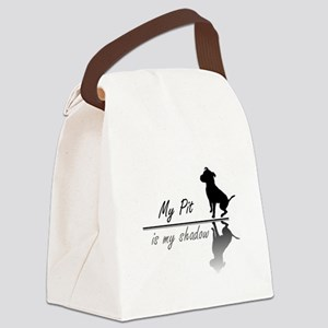 My Pit is my shadow Canvas Lunch Bag