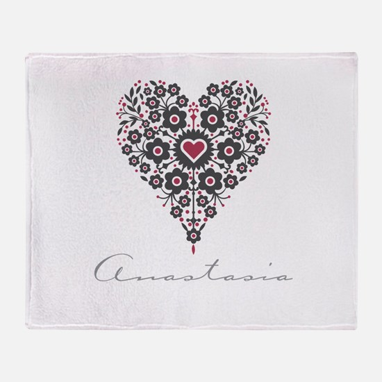 Love Anastasia Throw Blanket