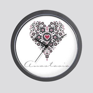 Love Anastasia Wall Clock