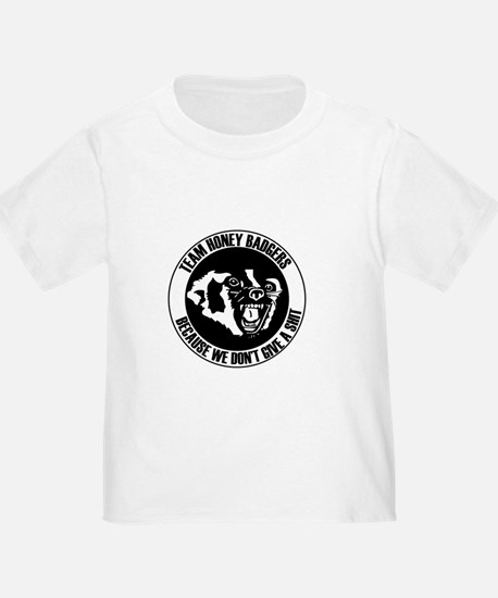 Team Honey Badgers Round T-Shirt
