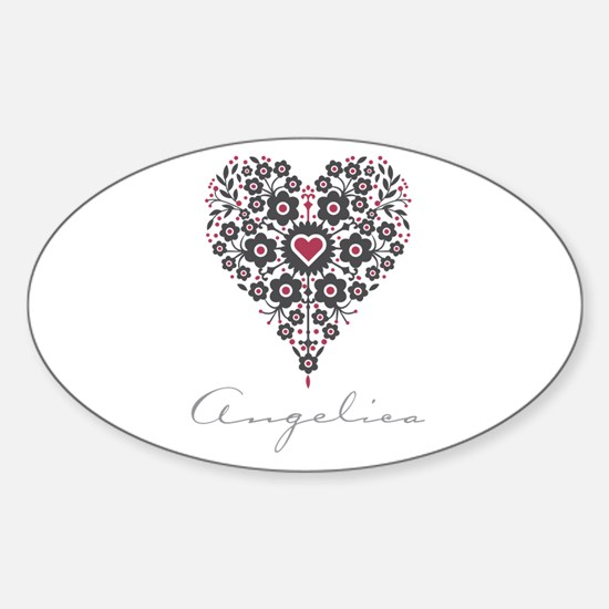 Love Angelica Decal